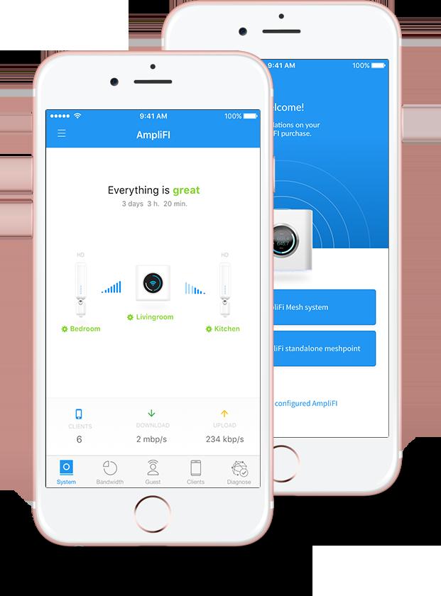 Whole-Home Wi-fi App